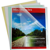 C-Line Products Report Covers Only, Polypropylene, Economy, Clear, 11 x 8 1/2, 100/BX