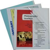 C-Line produits rapport couvre seulement, vinyle, clair, 11 x 8 1/2, 100/BX