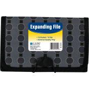 C-Line produits Coupon 13-Pocket taille extension de fichier, mode cercle série, qté par paquet : 6