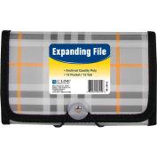 C-Line produits Coupon 13-Pocket taille en développant fichier, Plaid, qté par paquet : 6