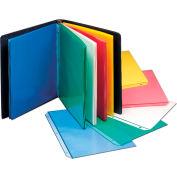 C-Line produits colorés polypropylène feuille Protector, divers coloris, 11 x 8 1/2, 50/BX