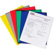 Dossiers du projet C-ligne de produits, assortis, réduit l'éblouissement, 11 x 8 1/2, 25/BX, qté par paquet : 3