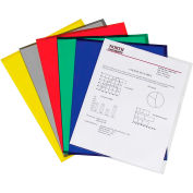 C-Line Products Project Folders, Assorted, Reduced Glare, 11 x 8 1/2, 25/BX