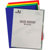 C-Line Products Project Folders with Index Tabs, Assorted Colors, 25/BX