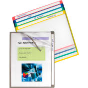 C-Line produits Write-on projet dossiers, effacer, 11 x 8 1/2, 25/BX