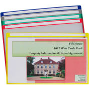C-Line Products Write-on Project Folders, Clear, 14 x 8 1/2, 25/BX