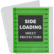 C-Line Products Side Loading Polypropylene Sheet Protector, Clear, 11 x 8 1/2, 50/BX