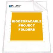 C-Line produits biodégradables projet dossiers, réduit l'éblouissement, 11 x 8 1/2, 25/BX, qté par paquet : 2