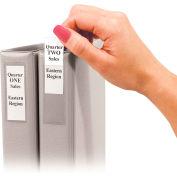 Étiquettes de liant autoadhésifs de produits C-Line, 1 liants de 1/2 pouces, 3/4 x 2 1/2, 12/PK (ensemble de 5 PK)