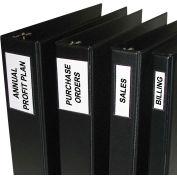 C-Line produits auto-adhésifs Binder étiquettes, 2-3 pouces liants, 1 3/4 x 3 1/4, 12/PK, qté par paquet : 5