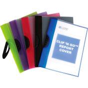 """C-Line Produits Snap 'N Go Enveloppes poly réutilisables, 11""""W x 8-1/2""""H, Assortiment, Pack de 24"""