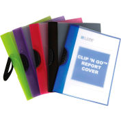 """C-Line Products Snap 'N Go Reusable Poly Envelopes, 11""""W x 8-1/2""""H, Assorted, 24/Pack"""