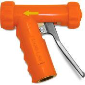 Sani-Lav® N1 Mid-Sized Brass Spray Nozzle - Safety Orange
