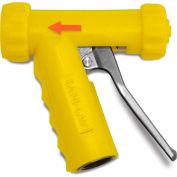 Sani-Lav® N1AY Mid-Sized Aluminum Spray Nozzle - Yellow