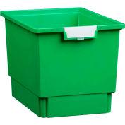 """Certwood Standard largeur profondeur Quad stockage fourre-tout plateau CE1954PG - 16-3/4"""" L x 12-5/16"""" W x 12 «H vert, qté par paquet : 5"""