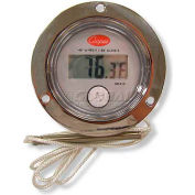 """Cooper-Atkins® Thermometer, Dm450-0-3, 2"""" Front Flange, Back Connect Panel - Min Qty 2"""