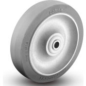 Colson® 2 Series Wheel 2.00005.444 - 5 x 1-1/4 Performa Rubber 3/8 Delrin Bushing - Gray