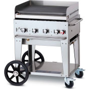 "Crown Verity Mobile Outdoor Griddle 30"" LP - MG-30"
