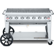 "Crown Verity Rental Mobile Grill 48"" LP - Double Inlet - RCB-48"
