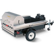 "Crown Verity Towable Grill Tailgate Unit With Storage LP - 69""W x 124""D x 52""H - TG-2"