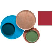 """Cambro 1200221 - Camtray 12"""" Round,  Ever Red - Pkg Qty 12"""