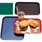 "Cambro 1216FF119 - Tray Fast Food 12"" x 16"",  Sherwood Green - Pkg Qty 24"