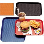 """Cambro 1216FF166 - Tray Fast Food 12"""" x 16"""",  Orange - Pkg Qty 24"""