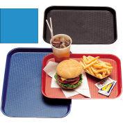 """Cambro 1216FF168 - Tray, Fast Food, Blue, 12"""" x 16""""  - Pkg Qty 24"""