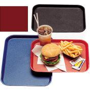 "Cambro 1216FF416 - Tray Fast Food 12"" x 16"",  Cranberry - Pkg Qty 24"