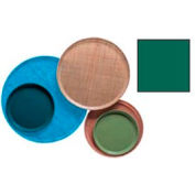 "Cambro 1300119 - Camtray 13"" Round,  Sherwood Green - Pkg Qty 12"