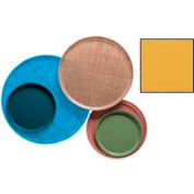 """Cambro 1300171 - Camtray 13"""" Round,  Tuscan Gold - Pkg Qty 12"""