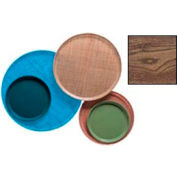 """Cambro 1300304 - Camtray 13"""" Round,  Country Oak - Pkg Qty 12"""