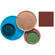 """Cambro 1300501 - Camtray 13"""" Round,  Real Rust - Pkg Qty 12"""