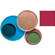 """Cambro 1300505 - Camtray 13"""" Round,  Cherry Red - Pkg Qty 12"""