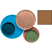 """Cambro 1300508 - Camtray 13"""" Round,  Suede Brown - Pkg Qty 12"""