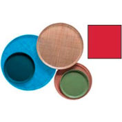 "Cambro 1300510 - Camtray 13"" Round,  Signal Red - Pkg Qty 12"