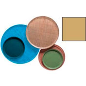 """Cambro 1300514 - Camtray 13"""" Round,  Earthen Gold - Pkg Qty 12"""
