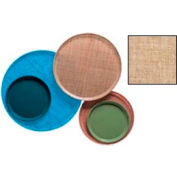 """Cambro 1400329 - Camtray 14"""" Round,  Linen Toffee - Pkg Qty 12"""