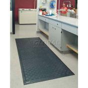 """Cushion Station™ Anti Fatigue Mat 7/16"""" Thick 4' x 8' Black"""