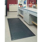 "Cushion Station™ Anti Fatigue Mat 7/16"" Thick 3' x 20' Black"