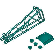 "Nexel® Poly-Green® 14"" Double Arm Fixed Wall Bracket"