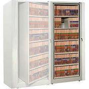 Rotary File Cabinet Adder Unit, Letter, 1 Shelves, Bone White