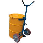 Vestil Barrel-Drum Truck DBT-1200-P Polyurethane Wheels 800 Lb. Capacity