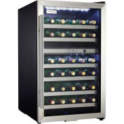 Danby® DWC114BLSDD - Wine Cooler, 38 Bottle Capacity