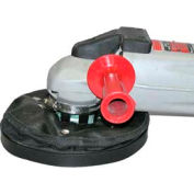 """Dust Muzzle Leatherneck Ultra 7-9"""" Dust Collector w/ 4' Step-Down Hose for Angle Grinders"""