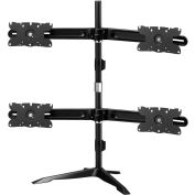 Dyconn Albatross Quad-Display Monitor Mount, Noir