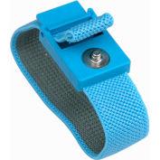 Desco Trustat® Adjustable Elastic Wrist Strap 04560 - Blue