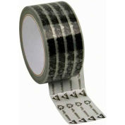 "ESD Tape Clear With Symbols 2"" x 72 Yds 3"" Paper Core"