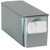 Dispense-Rite® Countertop Low Fold Napkin Dispenser - 1 Sided