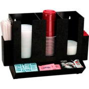 Dispense-Rite® Countertop Cup, Lid, Straw and Condiment Organizer